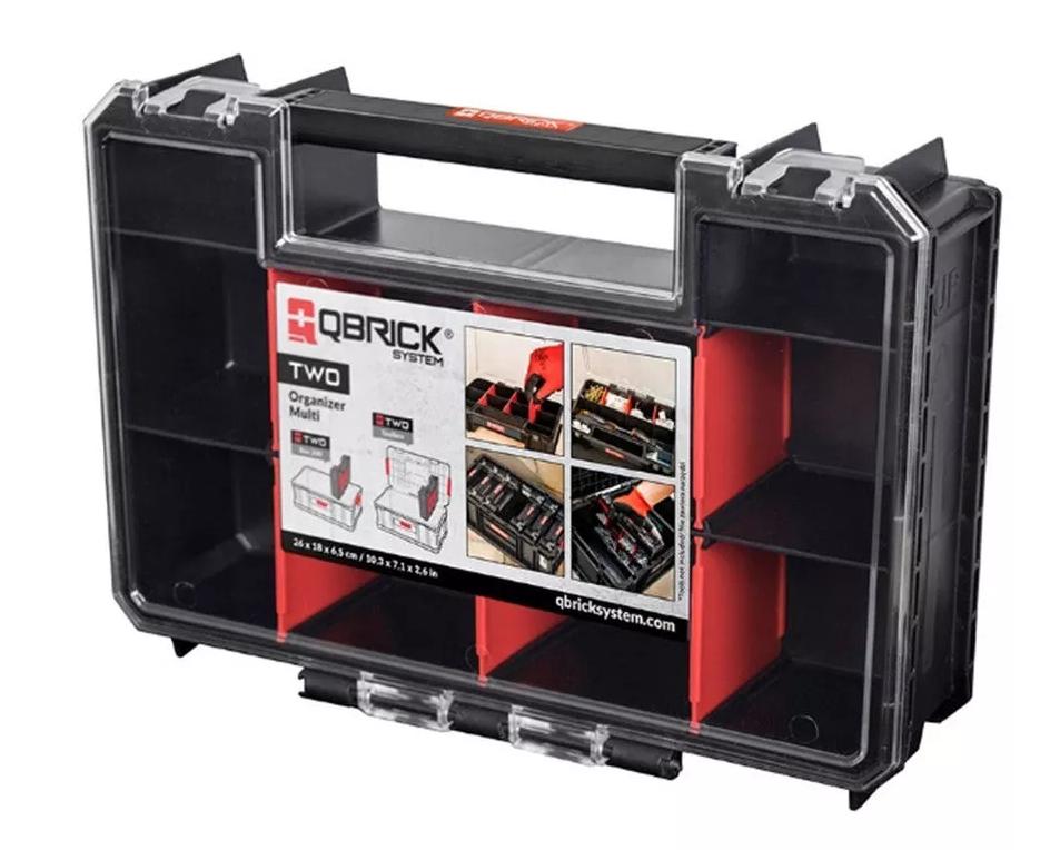 Ящик для инструментов Qbrick System TWO Organizer Multi, черный