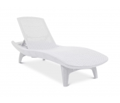Шезлонг Keter PACIFIC LOUNGER, белый