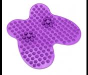 Коврик массажный рефлексологический для ног «РЕЛАКС МИ» фиолетовый KZ 0450