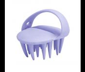 Массажер для мытья головы и ухода за волосами, сиреневый KZ 0495