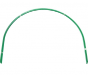 Парниковая металлическая дуга в ПВХ Комплект-Агро 2 м, 6 шт. КА0313