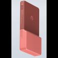 Беспроводное зарядное устройство Xiaomi Rui Ling Power Sticker LIB-4 (2600 mAh, красный)