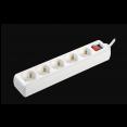 Удлинитель У05К-выкл. 5 мест 2P+PE/5м 3х1мм2 16А/250В IEK